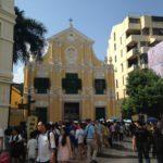 【マカオ】マカオ観光おすすめ世界遺産1 聖ドミニコ教会