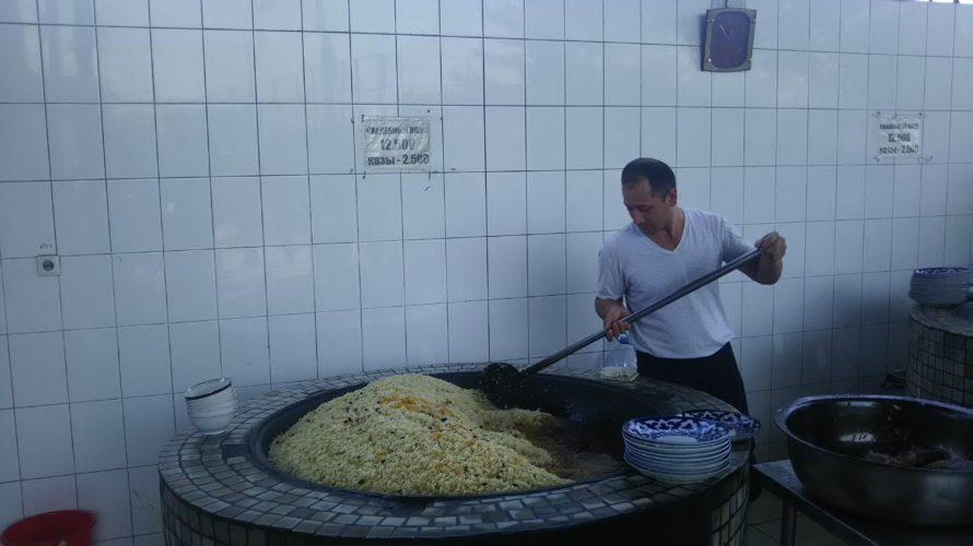 【ウズベキスタン】タシケント観光でお腹が空いたらプロフセンターへ行こう