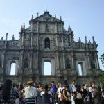 【マカオ】マカオ観光おすすめ世界遺産2 聖ポール天主堂跡