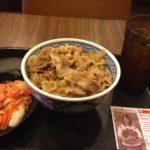 【台湾】台湾食に飽きて吉野家で牛丼を食べてみた