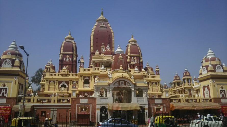 【インド】ニューデリーおすすめ観光ラクシュミーナーラーヤン寺院