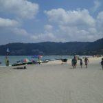 【タイ】プーケット観光おすすめの青い海と白い雲で人気のパトンビーチ