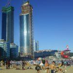 砂浜と海鮮で人気な釜山(プサン)