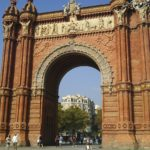 【スペイン】バルセロナ観光おすすめバルセロナ凱旋門