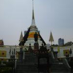 【タイ】バンコク船の形でめずらしい寺院ワットヤンナワー